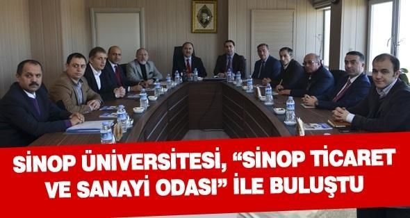 Sinop Üniversitesi, Sinop Ticaret ve Sanayi Odası  ile buluştu