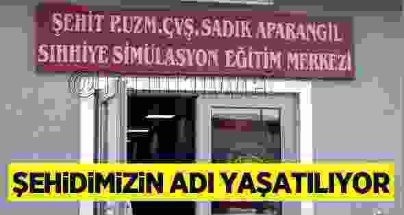 Sinoplu Şehidin Adı Sıhhiye Simülasyon Eğtitim Merkezi'ne Verildi